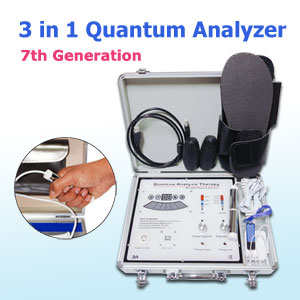 The newest 3 in 1 Quantum Magnetic Resonance Analyzer