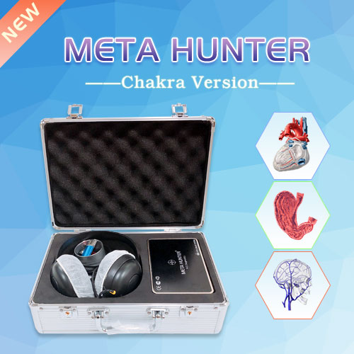 The Newest Meta Hunter Bioresonance Machine with Chakra Healing on sale